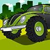 Monstriškos Beetle mašinos