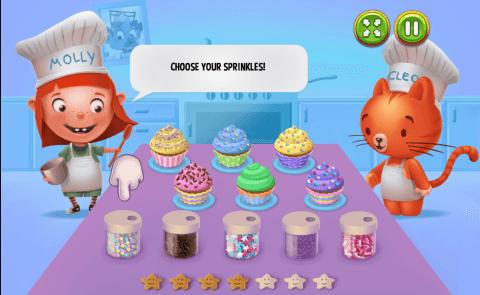 Paveiksliukas Cupcake Time