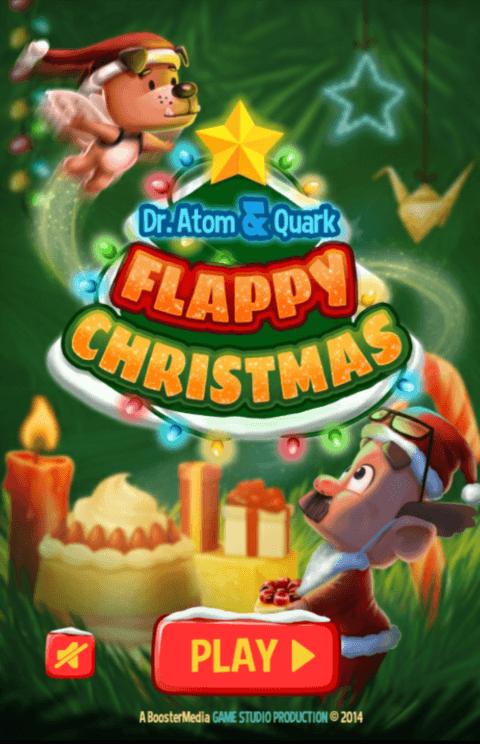 Paveiksliukas Flappy Christmas