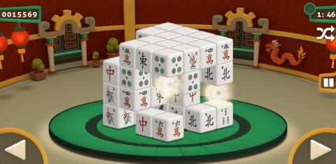 Paveiksliukas Mahjong 3D