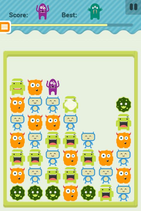 Paveiksliukas Monster Match