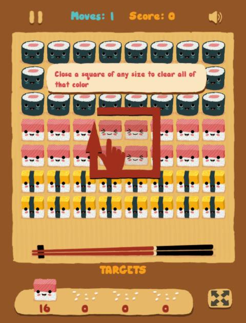 Paveiksliukas Sushi Time