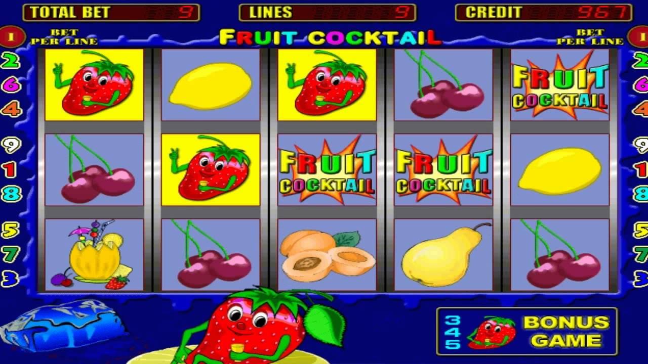 Paveiksliukas Vaisių kokteilis - kazino žaidimas