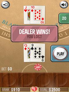 Paveiksliukas Blackjack Vegas