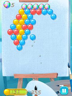 Paveiksliukas Burbuliukų šaudymas
