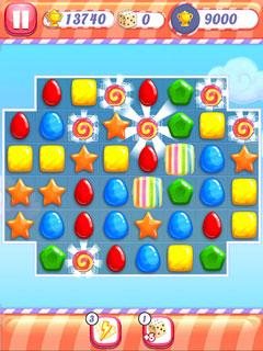 Paveiksliukas Candy Rain 2