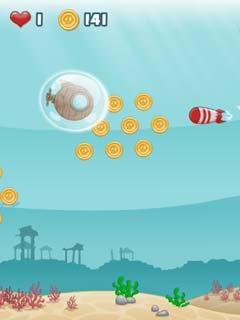 Paveiksliukas Submarine Dash - veiksmo žaidimas